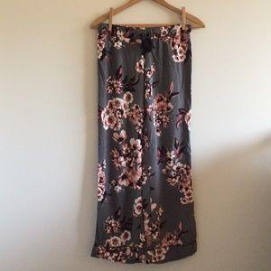 Cynthia Rowley floral pajama pants